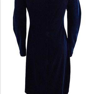 Lauren by Ralph Lauren navy blue sheath dress